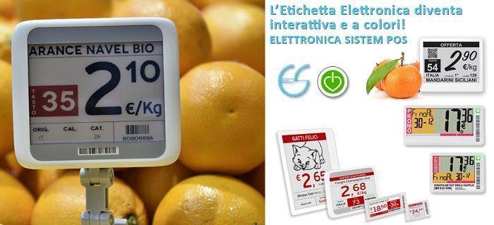 Etichette Elettroniche Agrigento, Palermo, Caltanissetta, Trapani